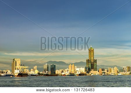 view of the city in Kaohsiung - Taiwan