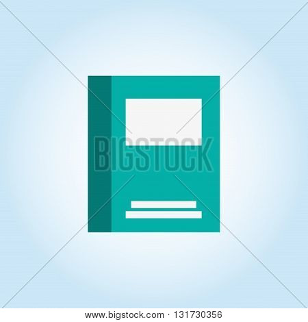Book concept with icon design, vector illustration 10 eps graphic.
