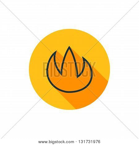 Vector Fire Icon