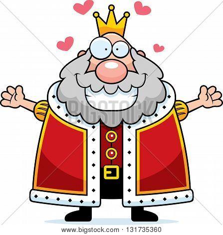 Cartoon King Hug
