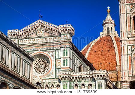 The Dome Of The Florence Cathedral, Italy
