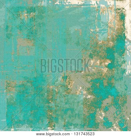 Colorful grunge background, tinted vintage style texture. With different color patterns: yellow (beige); brown; gray; blue; cyan