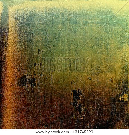 Cute colorful grunge texture or tinted vintage background with different color patterns: yellow (beige); brown; gray; green; black