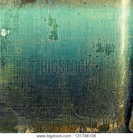 Abstract faded retro background or shabby texture with vintage style design and different color patterns: yellow (beige); brown; gray; green; blue; cyan
