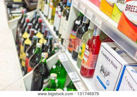 Many Types Of Wine And Alcohol Drink