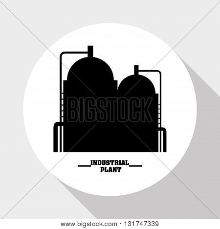 Industry concept with icon design, vector illustration 10 eps graphic.