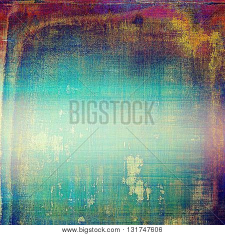 Colorful grunge background, tinted vintage style texture. With different color patterns: yellow (beige); green; blue; red (orange); purple (violet); pink