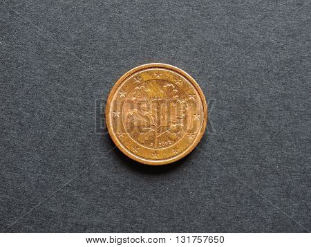 One Cent Euro Coin