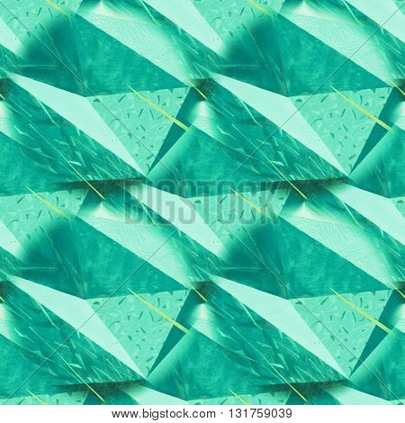 Abstract rumpled triangular background texture. Seamless polygonal pattern for your design. Creative template. Polygons pattern repeated. Polygons pattern triangular.