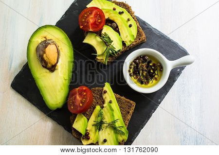Cooking Concept With Avocado