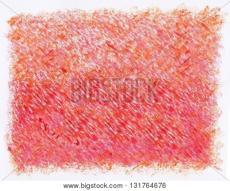 simple plain intense red crayon artistic abstract textures background