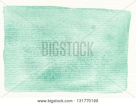 abstract green tones linear textures watercolor background