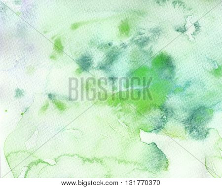 grunge green dirty textures watercolor abstract background