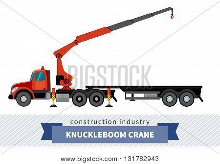 Knuckleboom Crane