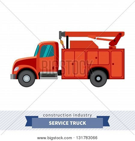 Utility Truck Crane