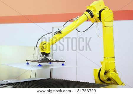 The image of robot