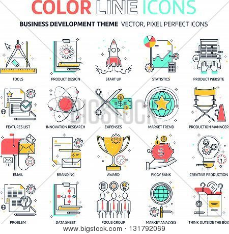 Color Line, Business Development Illustrations