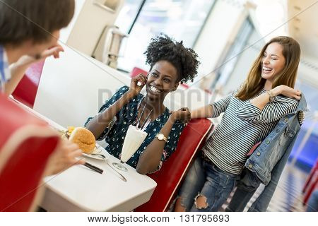 People In The Diner