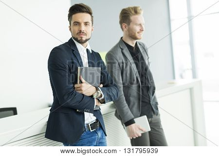 Young Men In The Office