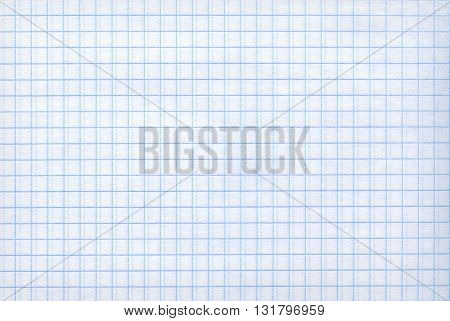Detailed blank math paper pattern texture as background.