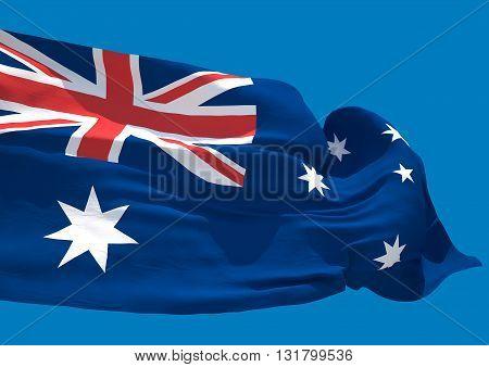 Australia wave flag HD Commonwealth of Australia