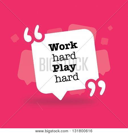 Work hard play hard in a bubble