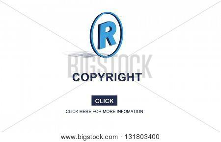Copyright Brand Business Design Identity Patent Concept