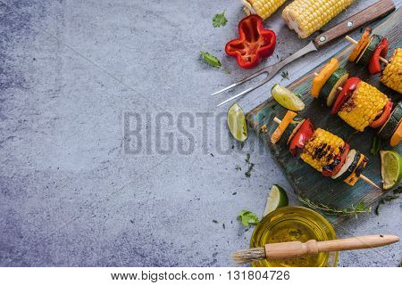 Ingredients For Healthy Bbq Or Grill