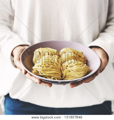 Noodle Chinese Chopstick Cuisine Culture Relax Concept