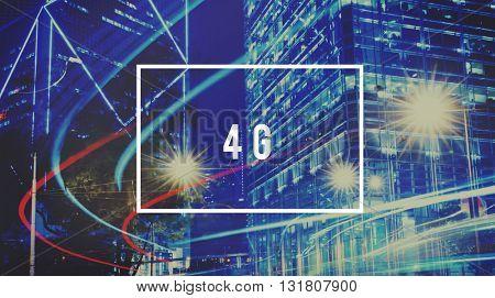 Internet Network Technology Communication Connection Concept