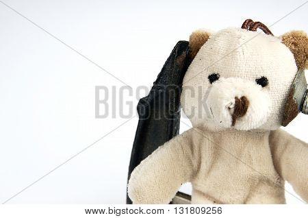 Clamp On The Head Teddy Bear Toy