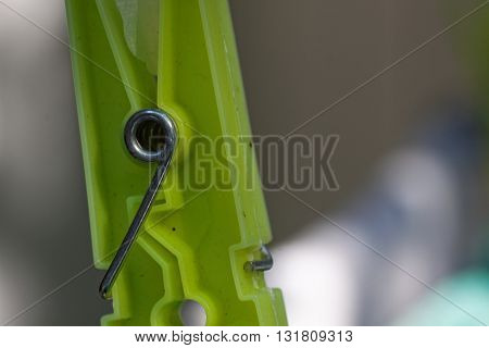 Clothes Pegs And Washing Shallow Depth Of Field