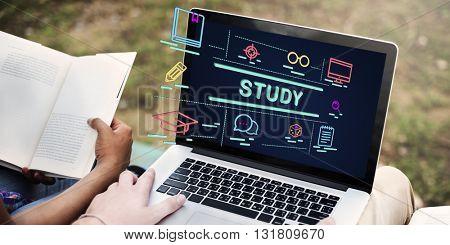 Study Education Development Improvement Concept