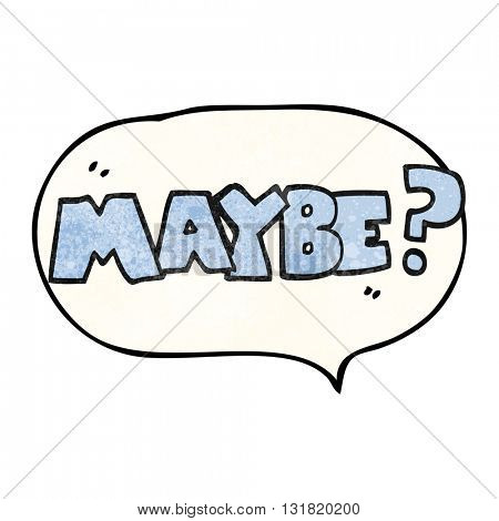 maybe freehand speech bubble textured cartoon symbol