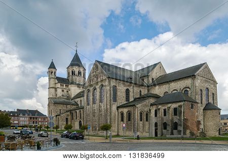 The Abbey of Nivelles is a former Imperial Abbey of the Holy Roman Empire founded about 650. It is located in the town of Nivelles in Province of Walloon Brabant Belgium