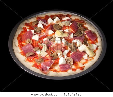 Delicious And Healthy Homemade Pizza