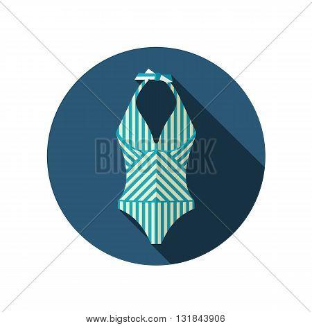 Swimsuit vector flat icon. Beach. Summer. Summertime. Vacation eps 10