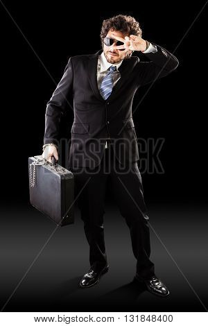 Cool High Risk Businessman Transport
