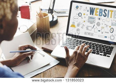 Website Internet Online Social Networking Connection Concept