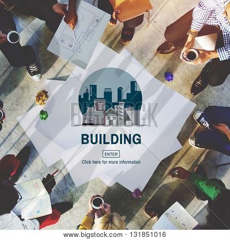 Architecture Real Estate Building Concept