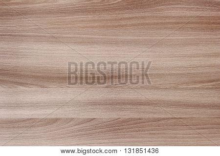 Flat delicate wood texture. Oak furniture light brown veneer.