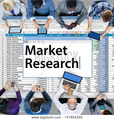 Market Research Consumer Needs Feedback Concept