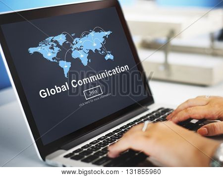 Global Communication Connection Conversation Concept