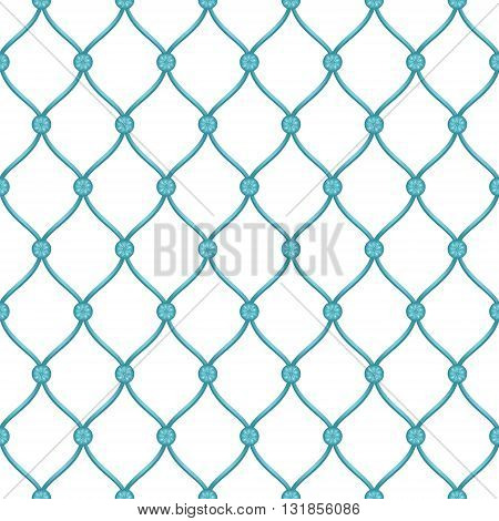 Vector abstract architectural detail for forged fence blue background. Can be used in cover design book design website background CD cover advertising.
