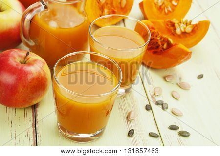 Pumpkin And Apple Juice