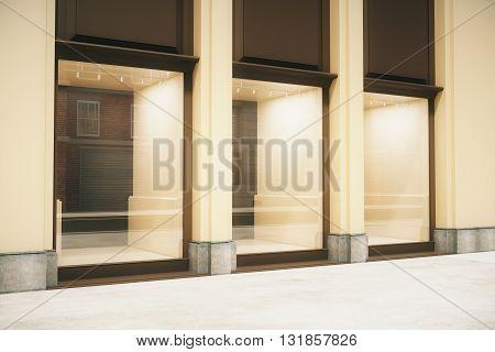Shop Exterior Side