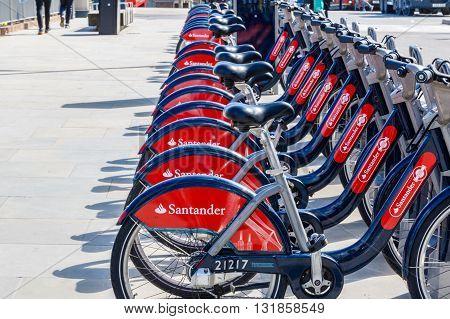 Santander Rental Bikes