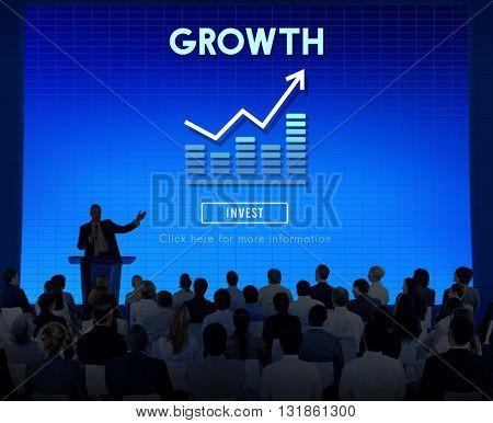 Growth Business Launch Success Improvement Concept