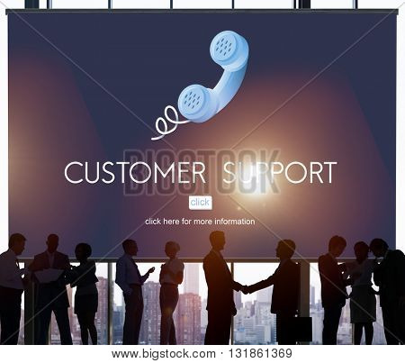 Customer Support Assistance Help Advice Client Concept