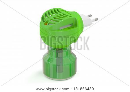 Anti-mosquito fumigator 3D rendering isolated on white background